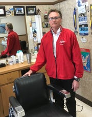 Greg Parker has been cutting hair for 40 years, and he says he doesn't believe it when KY3 anchor Steve Grant says he recently cut his own hair.