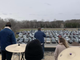 The Waters Church had its Easter service from the rooftop as cars were parked in the parking lot and KNSI was broadcasting the service on Sunday, April 12, 2020, at The Waters Church in Sartell.