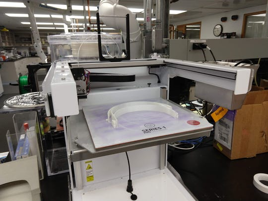 3D printers are being used by Beebe Healthcare system and Nemours to provide face masks and shields to health care workers assisting people during the coronavirus pandemic.
