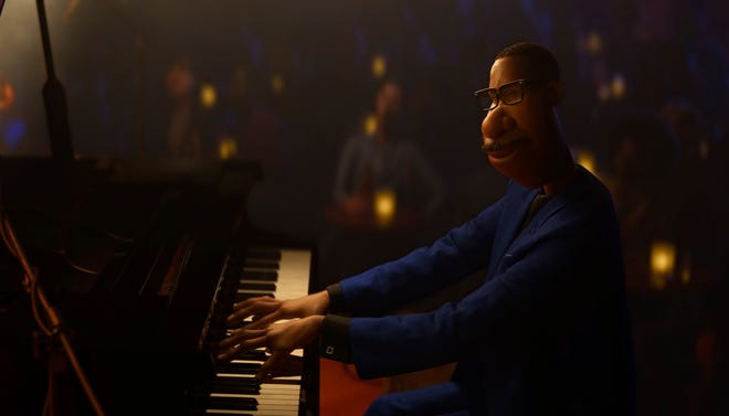 """Soul,"" Pixar's latest animated film, is about a music teacher (Jamie Foxx) whose soul gets separated from his body."