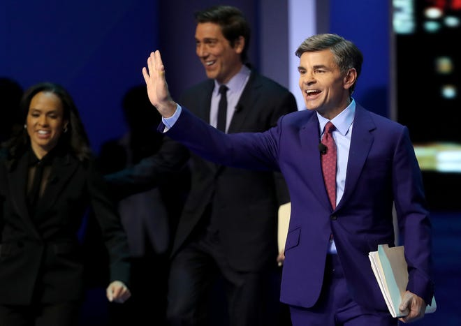 George Stephanopoulos, seen in a February 2020 file photo, is a Fall River native.
