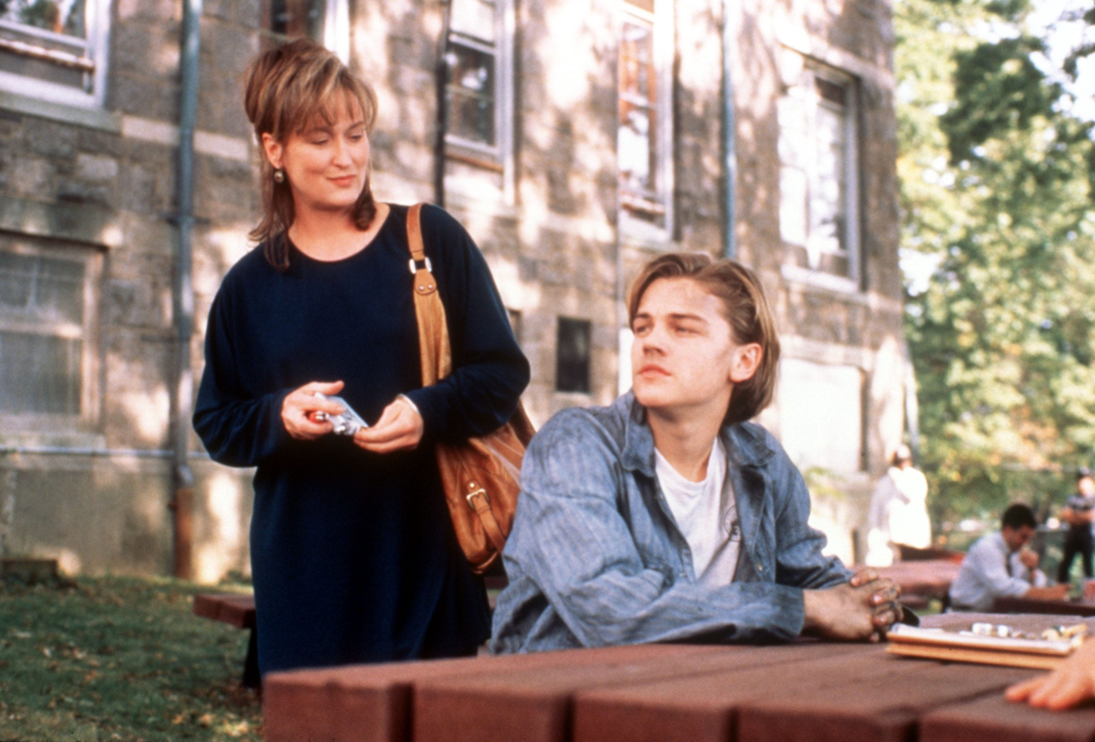 "Meryl Streep played mom to Leonardo DiCaprio in ""Marvin's Room."""