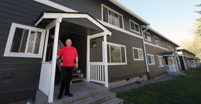 FILE — Anthony Williams outside of his Sheridan Heights apartment in Bremerton on Tuesday, April 14. Williams, who wasn't sure how he was going to make rent in April, received rental-assistance funds from the Bremerton Housing Authority. (Photo: Meegan M. Reid / Kitsap Sun)