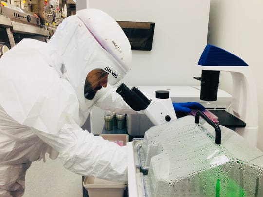 Jesús Alberto Silvas, a postdoctoral research associate at Georgia State University, is researching to identify candidate therapeutics that inhibit SARS-CoV-2, the virus that causes COVID-19.