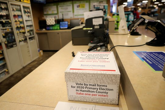 Nearly 1 million Ohioans have requested a vote-by-mail ballot for the primary election.
