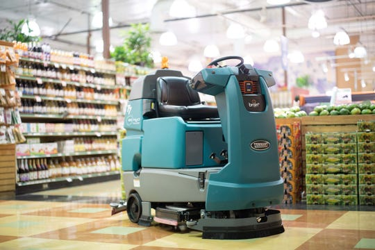 San Diego-based Brain Corp makes autonomous navigation software for Tennant robots to clean grocery floors. They are in demand during the COVID crisis.