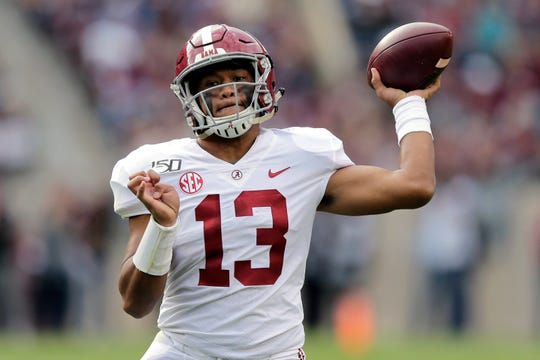 Health concerns could possibly prevent teams from trying to trade up for Alabama quarterback Tua Tagovailoa in the NFL Draft.