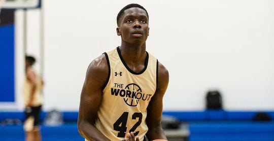 Four-star guard prospect Karim Mane of Vanier College in Montreal, Canada, is being pursued by Michigan State.