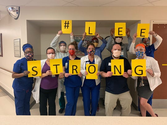 #Leestrong has become a very popular hashtag for doctors, nurses and other medical professionals at Lee Health during the coronavirus battle.