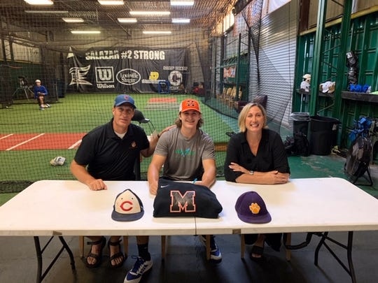 Cypress Lake LHP/1B TJ Kuhn signed a National Letter of Intent and will play baseball at Milligan College in Tennessee.