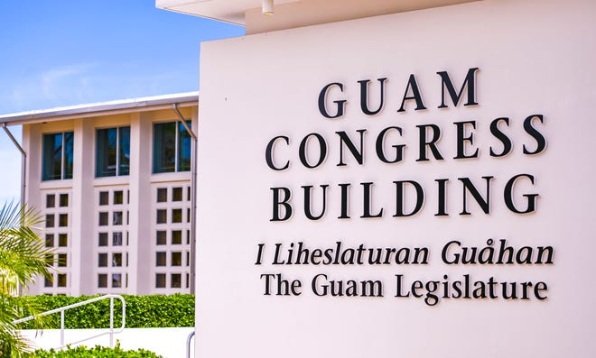 The Guam Congress Building in Hagåtña on April 14, 2020.