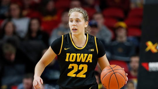 The energy and emotion Kathleen Doyle showed throughout her Iowa career are now fueling her stock ahead of Friday's WNBA Draft.