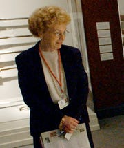 Retired Justice Lenore Prather is shown in this 2004 photo.