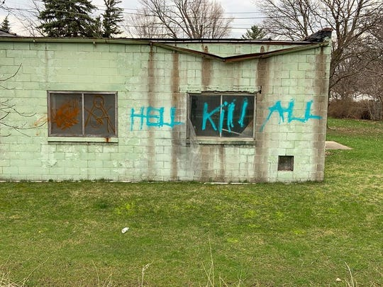 St. Johns Police are investigating vandalism on buildings and signs on the Fred Meijer Clinton-Ionia-Shiawassee walking trail.