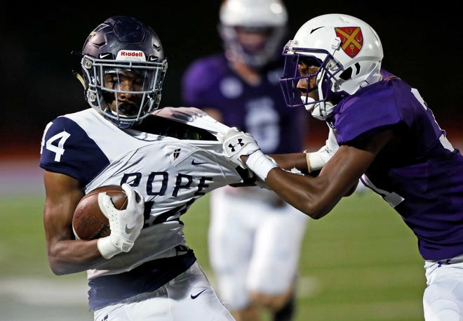 Pope John Paul II tailback Antwan Roberts is the third running back to commit to Wisconsin for the 2021 class.
