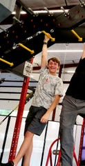 Caleb Brown of Christiana appears in the second season of 'American Ninja Warrior Junior,' which debuts at 5 p.m. April 17 on Universal Kids network. Brown placed fourth in the first season.