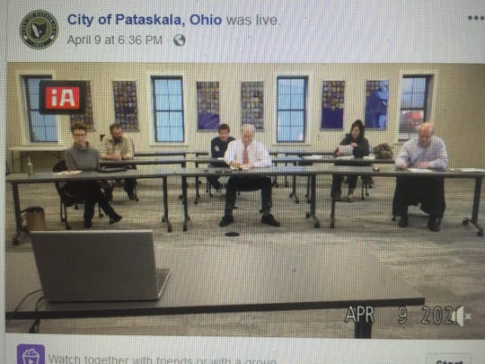 Council interviewed council appointment hopefuls remotely during another streaming-only Pataskala meeting on April 9.