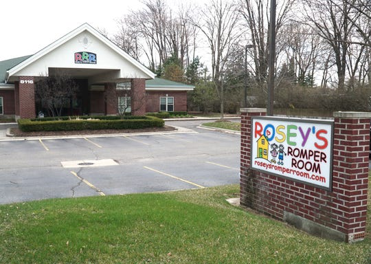 Rosey's Romper Room daycare center off Canton Center Road in Canton.