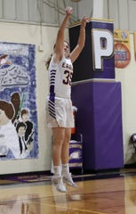 Plymouth Christian senior Rachel Costello just finished basketball season with the Eagles.