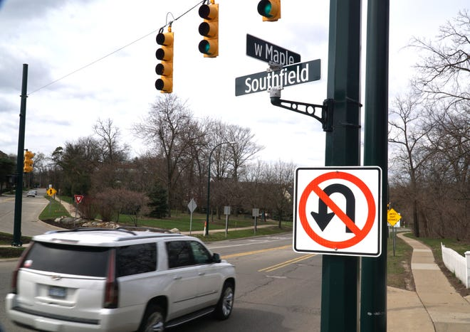 Birmingham is looking to potentially change the intersection of Maple and Southfield Road just west of the downtown.