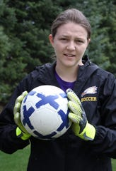 PCA senior Rachel Costello was going to be a goalie on the soccer team this spring.