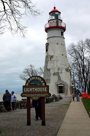 The Marblehead Lighthouse is still garnering regular visitors despite the pandemic.