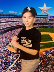 Patrick Cullen, photographed in 2013, as a member of the East Fishkill youth baseball team.