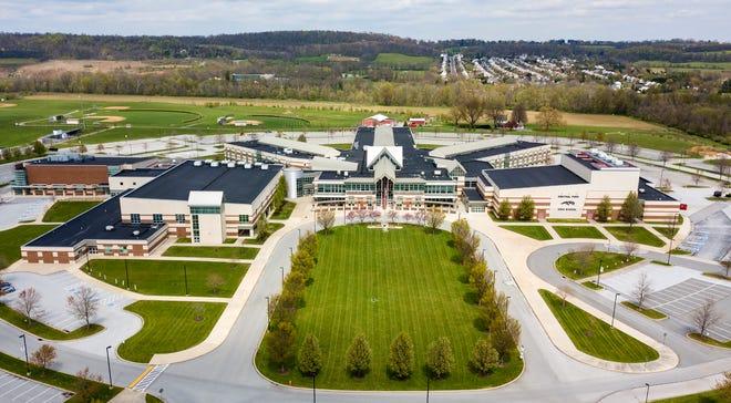 Central York High School, Tuesday, April 14, 2020.John A. Pavoncello photo