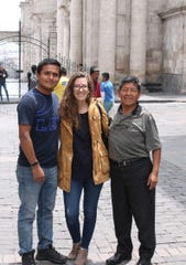 """Sarah Jones was supposed to get married in March to Igor """"Junior"""" Araujo, left. Her father and older sister traveled from Pennsylvania to Peru for the wedding and wound up getting caught up in the coronavirus lockdown in the country."""