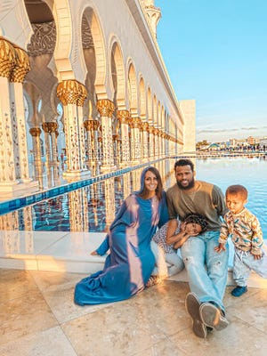 Richmond High School alum Dominic James-Wright, his wife, Angela, and their three children were stranded in Abu Dhabi for days after the country's airports shut down due to COVID-19.