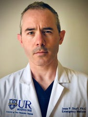 Jesse P. Shuff, Physician Assistant, Emergency Medicine, Strong Memorial Hospital