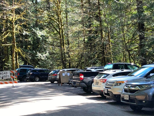 Although developed recreation sites in Oregon national forests are closed, many have been parking near closed areas and walking in to get outdoors, frustrating some locals.