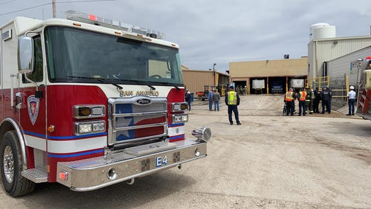 On Tuesday, April 14, 2020, police were dispatched to a structure fire at 2150 E. 37th Street, Lone Star Beef Processors.