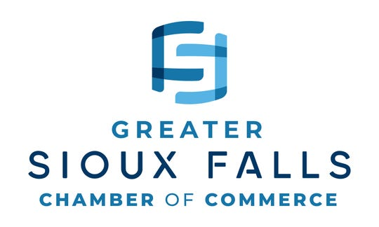 The new logo for Greater Sioux Falls Chamber of Commerce