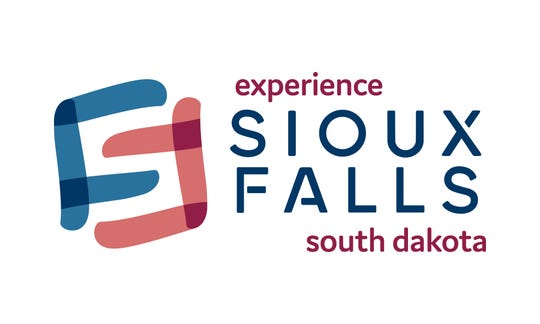 The new logo for Experience Sioux Falls, formerly the CVB.