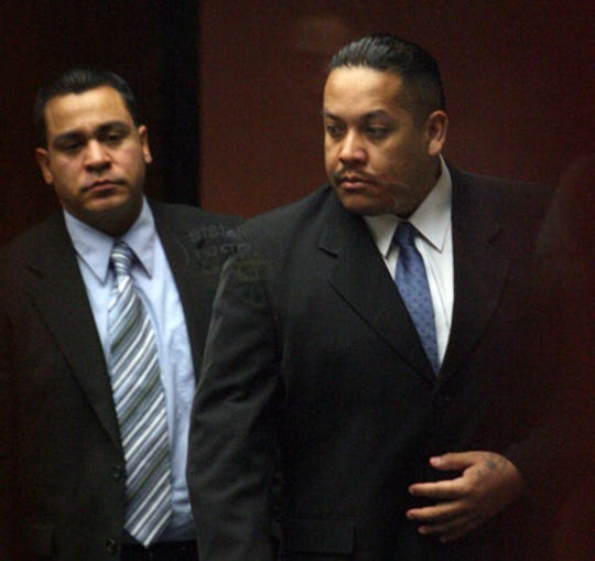11/25/2009 Fabian Hernandez walked into 346th District Court Monday during the punishment phase of his trial.