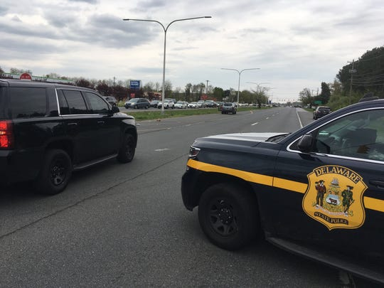 Delaware State Police are investigating an accident on Route 40 near Brookmont Drive.