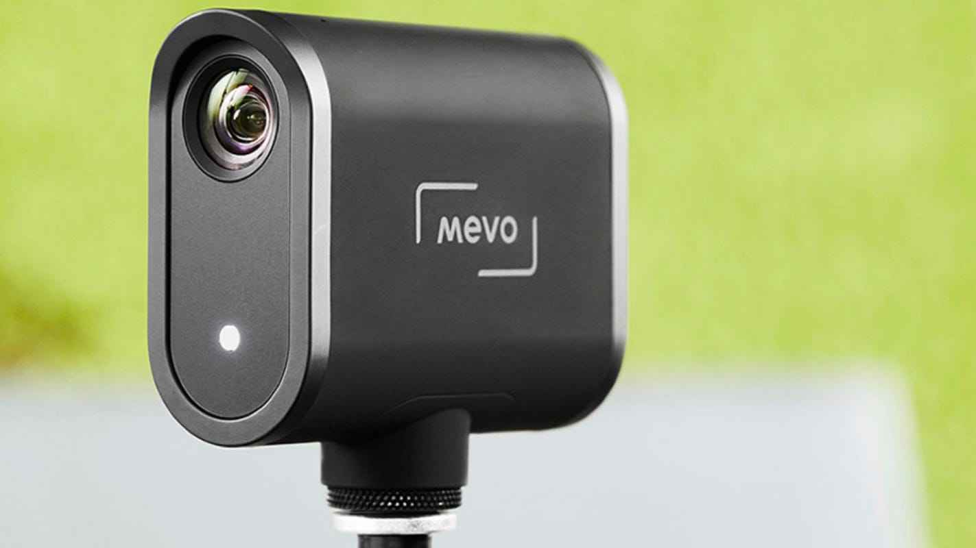 No webcam? New Mevo can fill the void and stream to Facebook, Twitter and...