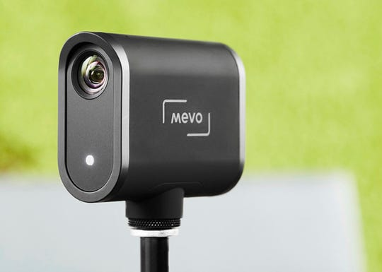 The Mevo Start is the latest model of the tiny camera.