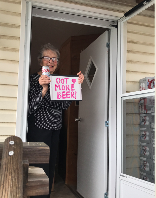 Got more beer! : 93-year-old Pennsylvania woman receives coronavirus quarantine gift from Molson Coors