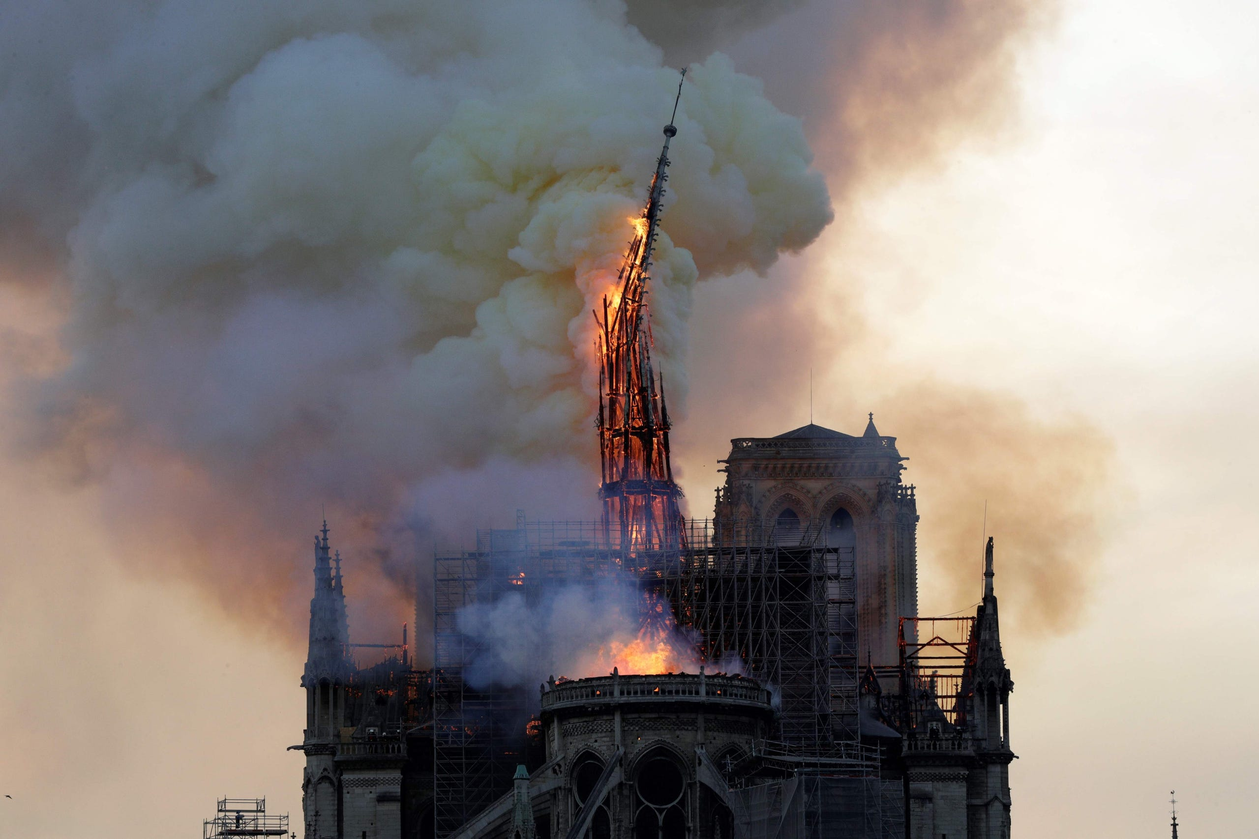 Notre Dame Cathedral In Paris Remains Closed One Year After Fire