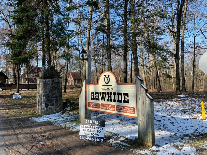 Rawhide, a secluded ranch for at-risk boys along the Wolf River near New London, is closed to visitors as a result of the coronavirus pandemic.