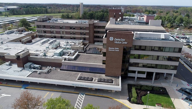 CentraState Medical Center in Freehold Township is shown Tuesday, April 14, 2020.