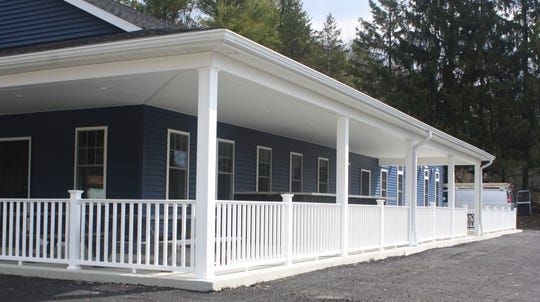 The Airport Inn Restaurant was rebuilt after a devastating fire, and is now bigger than the original building.