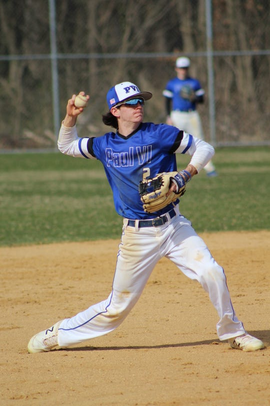 Paul VI senior Jimmy Bruno has been instrumental to the Eagles success since taking over the starting shortstop role during his sophomore season.