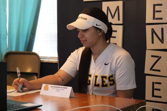 Walnut Hills High School softball player MacKienzee Rasheed signed to play for Albany State University.
