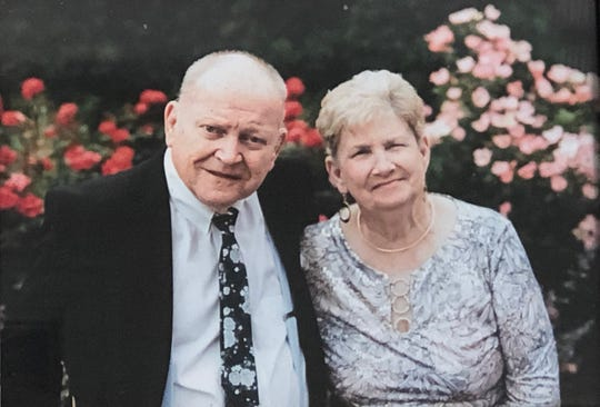 Bob and Barb James were married for 57 years.