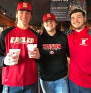 CJ Banyacski, Joe Ferro and Jack Calabrese were among the Edison baseball players who wanted to help others in need throughout their school community
