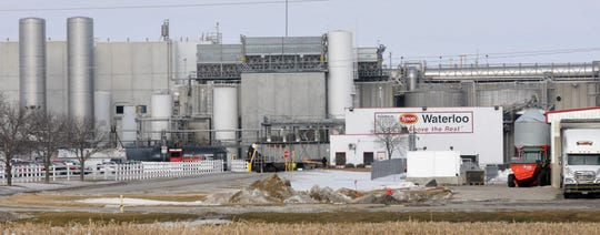 Concern about Tyson's meatpacking plant in Waterloo rose as Black Hawk County saw a spike in COVID-19 cases.