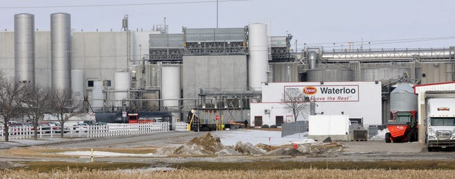 A federal lawsuit alleges senior managers at Tyson Foods' Waterloo pork processing plant lied to interpreters about the scope of coronavirus dangers at the facility.